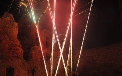 Feuerwerksshow